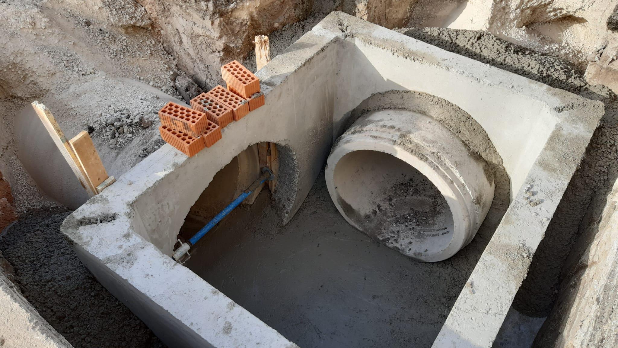 renovacion de la red de saneamiento - GUEROLA CONSTRUCCION